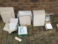 Free tiles!!! Mixed bundle of white and cream tiles. Collection only
