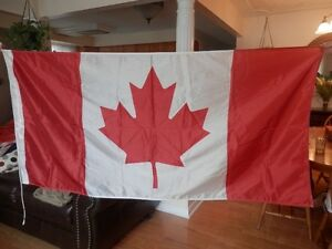 3'x6'- 2 FLAG LOT CANADA  and ONTARIO