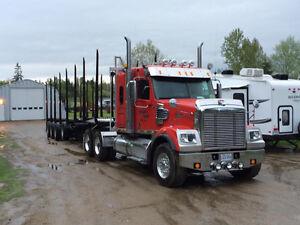Freightleiner coronado + trailer