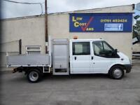 Ford Transit 350 DOUBLE CAB TIPPER 2.4 115 6 spd