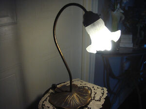 Set Of Two Lily Pad Lamps