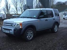 Land Rover Discovery 2.7 TD Commercial XS Manual 79000 miles FSH 2007/57 Silver