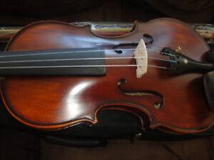 BEST QUALITY CHRISTINA ACOUSTIC VIOLIN 4/4 FULLY LOADED NEW $175