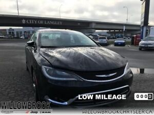 2016 Chrysler 200 C  - Low Mileage