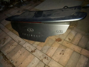 Used Trunk Lid For 2006 Infiniti G35 Coupe