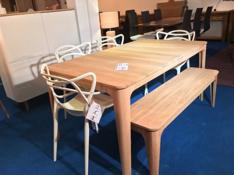 Ebbe Gehl Mira 6 8 Extending Dining Table and Bench with 4  : 86 from www.gumtree.com size 800 x 600 jpeg 58kB