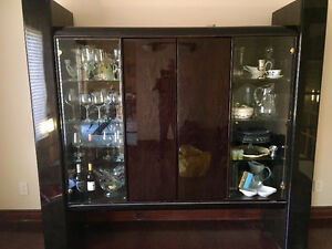 Great condition for sale, Wall unit, Dining table, Chairs