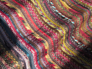 *****FABRIC SWATH *****109 SILK TIES*****OMG!