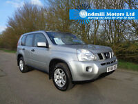 2008/58 NISSAN X-TRAIL 2.0 DCI TREK 5DR DIESEL 4X4 SILVER + BLUETOOTH + AIR CON