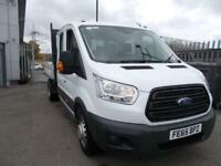 Ford Transit 2.2 Tdci 125Ps Double Cab Chassis DIESEL MANUAL WHITE (2015)