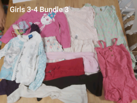 Girls 3-4 clothes bundle 59 items. (Bundle 3)