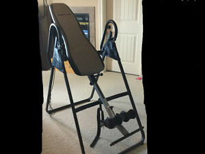 Ironman heat therapy inversion table