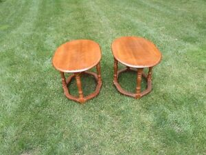 Solid Maple End Tables