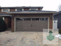 New Garage door installation & sale by competent techs