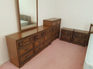 BEDROOM SET INCLUDING DOUBLE MATTRESS AND BOX-SPRING