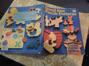 Wood working puzzles book