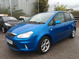 2007 Ford C-Max MPV 1.8 125 Zetec Petrol blue Manual