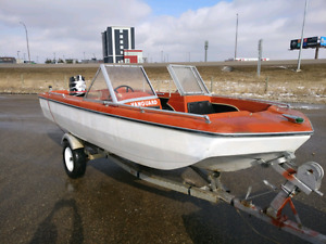 Vanguard Trihull 15ft Boat