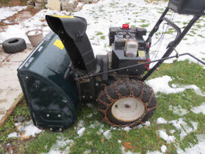 Yard Machines 10HP 28 inch Snowblower Like New Free Delivery