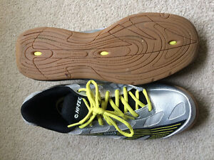 Squash Raquette & Shoes ** used twice