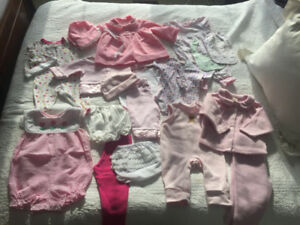 Huge lot of Gymboree / brand name baby clothes 3-6M
