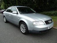 AUDI A6 1.8T SE ONLY 1 OWNER FROM NEW! FULL MOT & EXCELLENT HISTORY