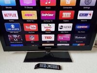 "40"" Samsung full Hd FREEVIEW TV With HDMIs & USB --- Collection Derby"