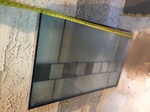 Glass Insert for House Door
