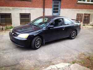 2001 Honds Civic si   Coupee