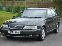 VOLVO V70 2.2 ESTATE FULL BLACK LEATHER. FSH LONG MOT