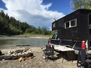 Truck and Camper PRICE REDUCED - must go asap!!!!