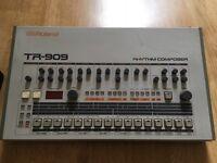 Roland Tr909 Rhythm Composer Drum Machine