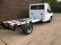 2007 FORD TRANSIT 100T350 CHASSIS CAB 2.4 TDCI 3500 KG GVW 1 OWNER F/S/HISTORY
