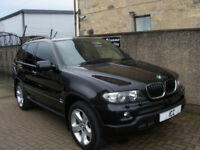 """06 06 BMW X5 3.0D SPORT AUTO DIESEL 5DR 19"""" ALLOYS BLACK LEATHER CLIMATE CRUISE"""
