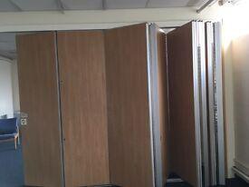 DuplexFolding Concertina Doors & Room Divider & Tracking