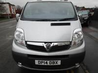 NO VAT Finance from £132 PCM Vauxhall Vivaro 2.0CDTi Sportive LWB panel van (6)