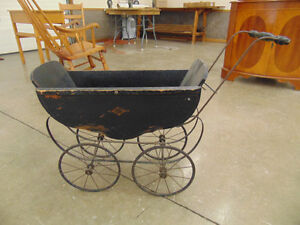 Antique Dolls Baby Carriage