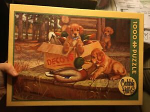 Cobble Hill Dogs and Decoys puzzle