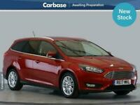 2017 Ford Focus 1.5 TDCi 120 Zetec Edition 5dr Estate ESTATE Diesel Manual