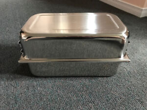 Vollrath Rectangle Stainless Steel Roasting Pan with lid