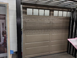 DEMO GARAGE DOOR FOR SALE 1/2 PRICE !!!!!! CALL (905) 601-8112