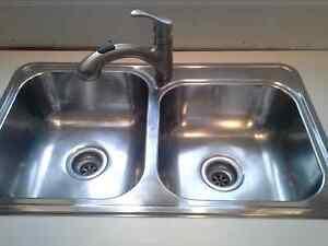 Kitchen sink & faucet