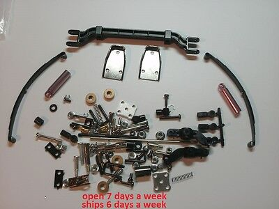 ALL TAMIYA TRACTOR COMPLETE FRONT AXLE SUSPENSION SCANIA GLOBE KING BENZ SLT  #1 ()