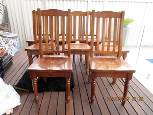 Pine Timber Chairs Belfield Canterbury Area Preview
