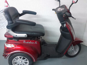 Chargers,ElectricTrikes,Adult Mobility,Heated Storage,Lay Aways
