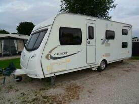 Lunar Lexon 550 5-6 berth bunk beds end washroom caravan with motor mover