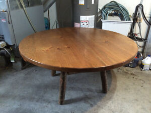 Log dining table - NO chairs