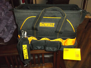 DEWALT CARRYING BAG IN NEW CONDITION,,