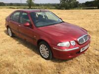 Rover 45 1.8 16v iXL Only 28,000 Miles From New By One Retired Owner With FSH.