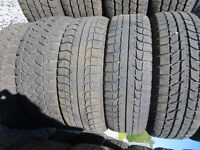 P195/60R15 USED TIRES LOTS OF TREAD